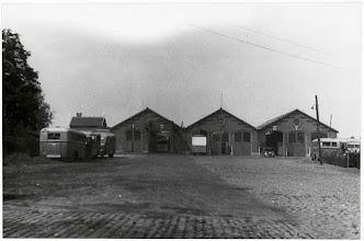 Photo: 1940 De ZNSM werkplaats en remise te Princenhage in (BBA)