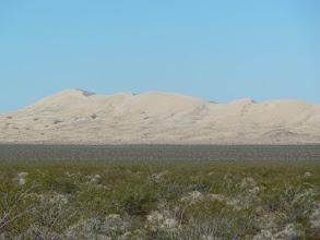 Photo: Dunes dans le désert Mojave