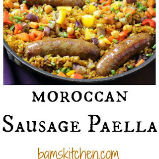 Moroccan Sausage Paella.