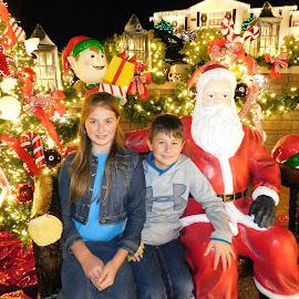 Christmas Time by Karen Carter Goforth - Public Holidays Christmas ( portrait, christmas, kids.light, holiday, santa,  )