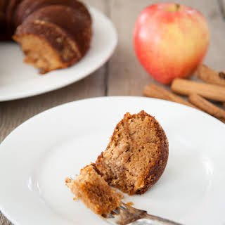 Paleo Cinnamon Apple Cake.