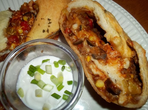 Mexican Stromboli - Cass's Way Recipe