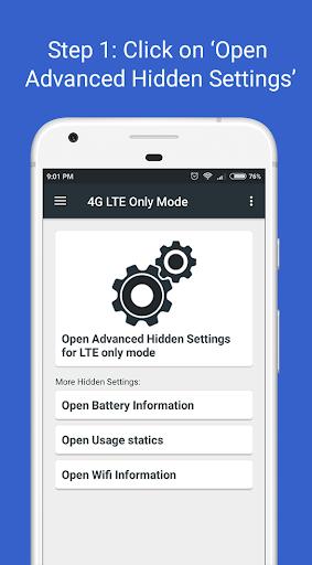 4G LTE Only Mode 1.2.7 screenshots 1