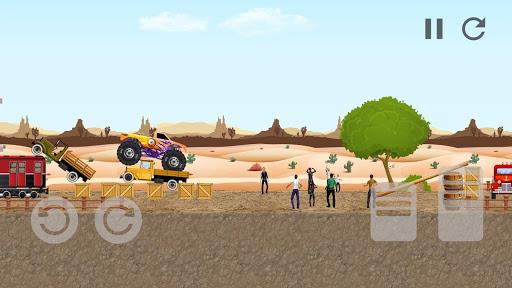 Monster Truck Crot: Monster truck racing car games painmod.com screenshots 7