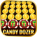 Candy Coins Dozer: Pusher Game Icon