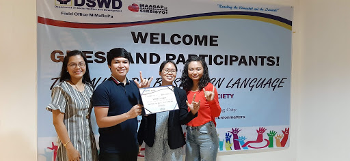 MCCID Conducts Basic FSL and Sensitivity Training to DSWD Social Workers