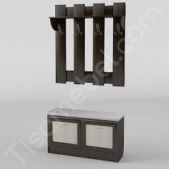 Прихожая-4 мебель разработана и произведена Фабрикой Тиса мебель