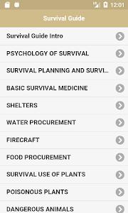 Offline Survival Guide 1.0