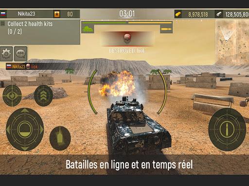 Grand Tanks: Guerre de Tank APK MOD – Pièces de Monnaie Illimitées (Astuce) screenshots hack proof 1