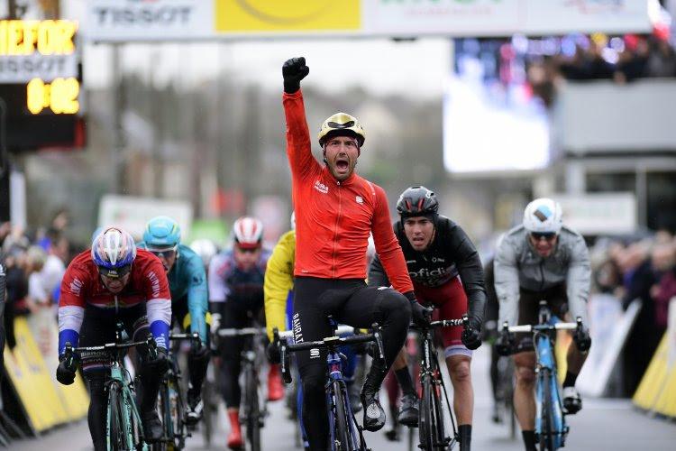 Colbrelli s'adjuge la seconde étape du Paris-Nice