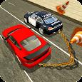 Prado Chain Car Driving: Chained Car Games
