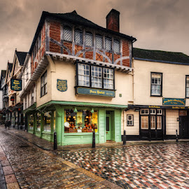 Canterbury by Krasimir Lazarov - City,  Street & Park  Historic Districts ( kent, streets, city, united kingdom, buildings, canterbury, architecture )