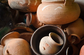 Photo: Pottery in the market