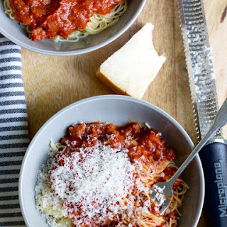 Spaghetti Sauce Crushed Tomatoes Recipes.