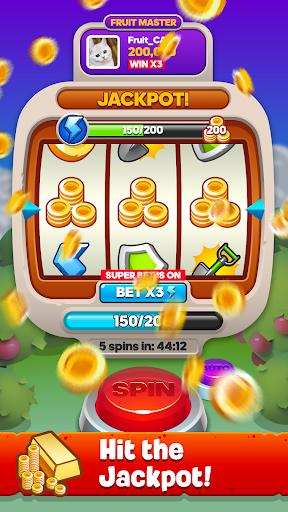 Fruit Master - Coin Adventure Spin Master Saga 1.0.63 screenshots 1