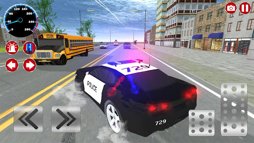 Real Police Car Driving Simulator: Car Games 2020 screenshots 11