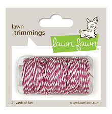 Lawn Fawn Trimmings Hemp Cord 21yd - Orchid