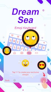 Dream Sea Theme&Emoji Keyboard - náhled