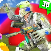 Paintball Shooting Combat Arena: Real Softball Fun