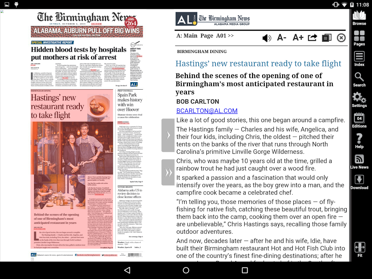 The Birmingham News- screenshot