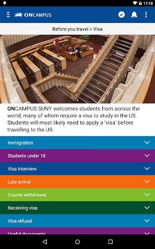 ONCAMPUS SUNY PreArrival Apk Download 11