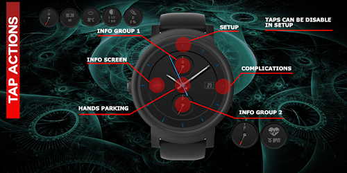 Tải MB111 Watchface for Wear OS & Tizen cho Android - Download APK