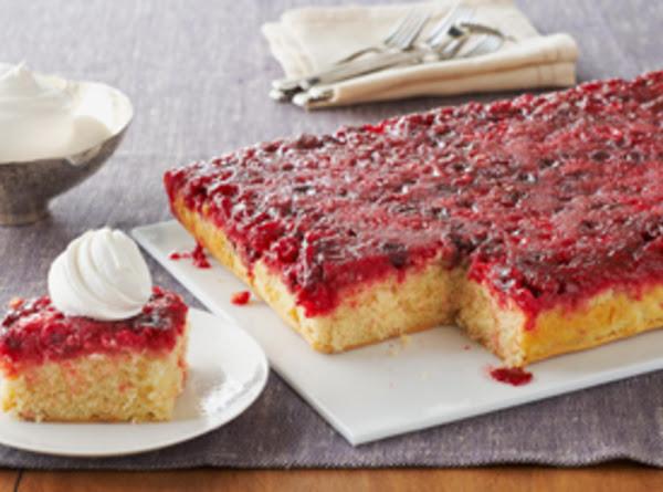 Cranberry Upside Down Cake Recipe