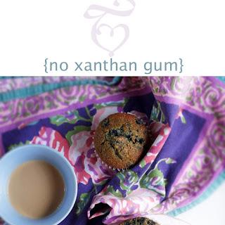 Gluten-Free Blueberry Muffins- No Xanthan Gum