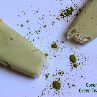 Coconut Matcha Green Tea Popsicles Recipe