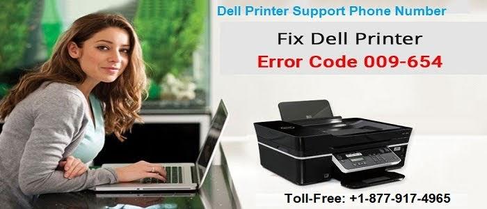 How to Fix Dell Printer Error Code 009-654