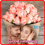Good morning photo frames APK icon
