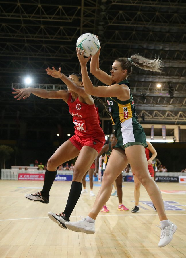 England edge South Africa in exciting netball Test series opener in Cape Town