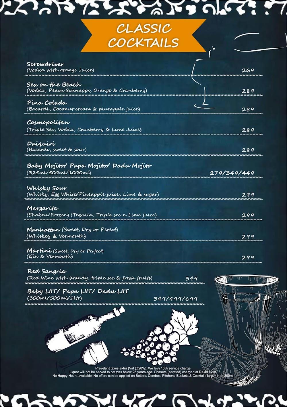 Chill'm Bar & Cafe menu 7