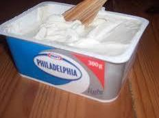 7.Add by tablespoonfuls the Philadelphia Cream Cheese until well mixed and warmed.. NOTE: Philly...