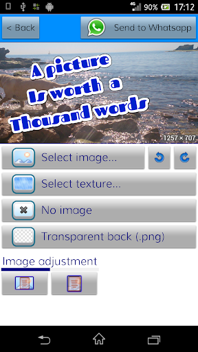 TextArt u2605 Cool Text creator 1.1.7 screenshots 9