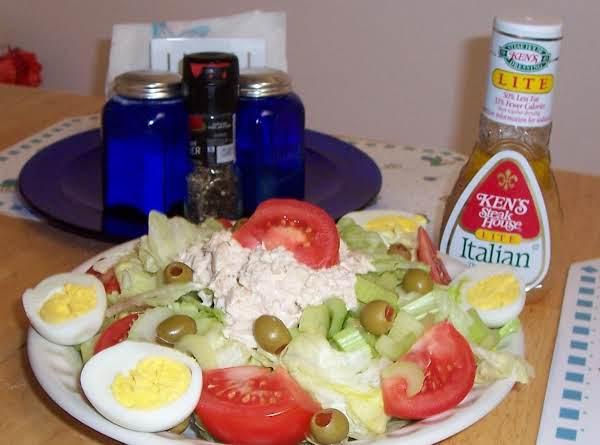 Tuna Salad Plate_image