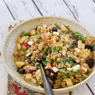Cinnamon Apple Quinoa Salad