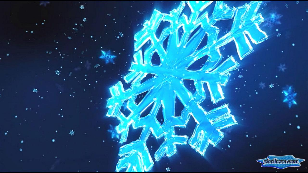 Crystal Snowflakes Snowfall- screenshot