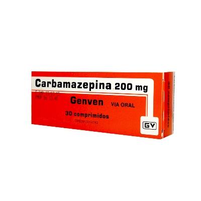Carbamazepina Genven 200 mg x 30 Comprimidos