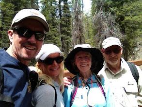Photo: Kyle & Jill Garrett With Anne Fleming and Alan Negrin