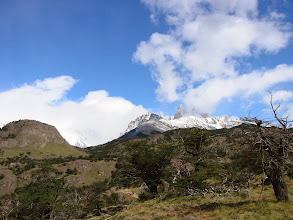 Photo: Cerro Torre (hiding)
