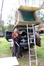 Photo: Frank & Sharon from Australia, Karen Camp, Nairobi