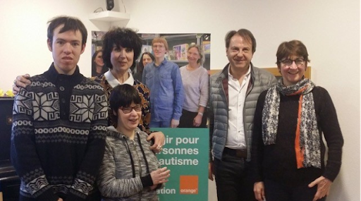 Partenariat entre L'Arche à Strasbourg et la Fondation Orange
