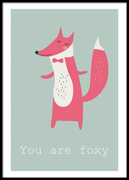 FOX, POSTER