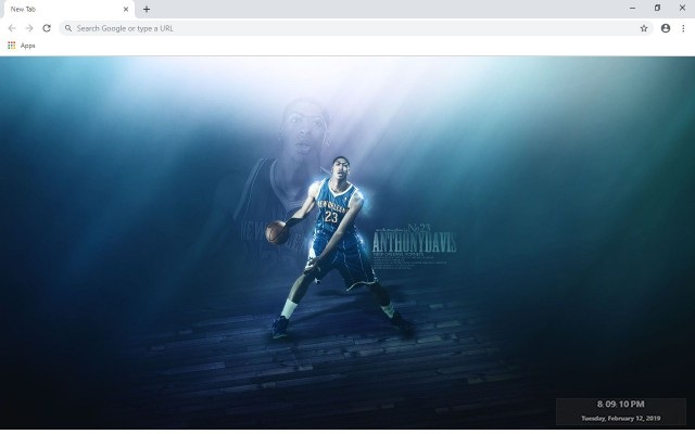 New Orleans Hornets New Tab Theme
