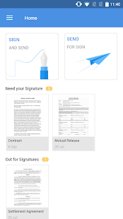 Zoho Sign - Upload, Scan and Sign Documents- screenshot thumbnail