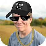 Thug Life Stickers: Pics Editor, Photo Maker, Meme 4.4.77