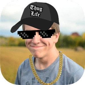 Thug Life Stickers Pics Editor Photo Maker Meme 4.5.43 by Floc Media logo
