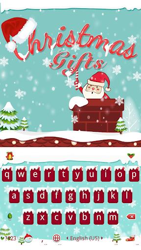 Christmas Gifts Keyboard Theme