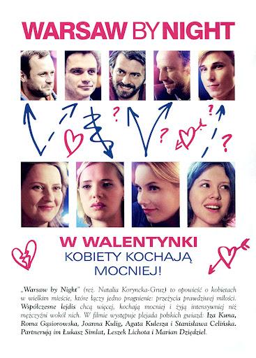 Tył ulotki filmu 'Warsaw By Night'